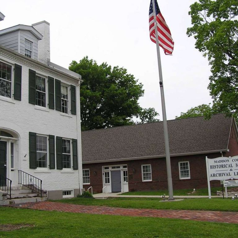 Madison-County-Historical-Society-Museum-front-of-the-building
