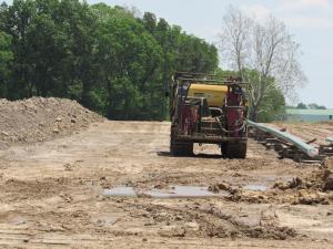 Gas line construction